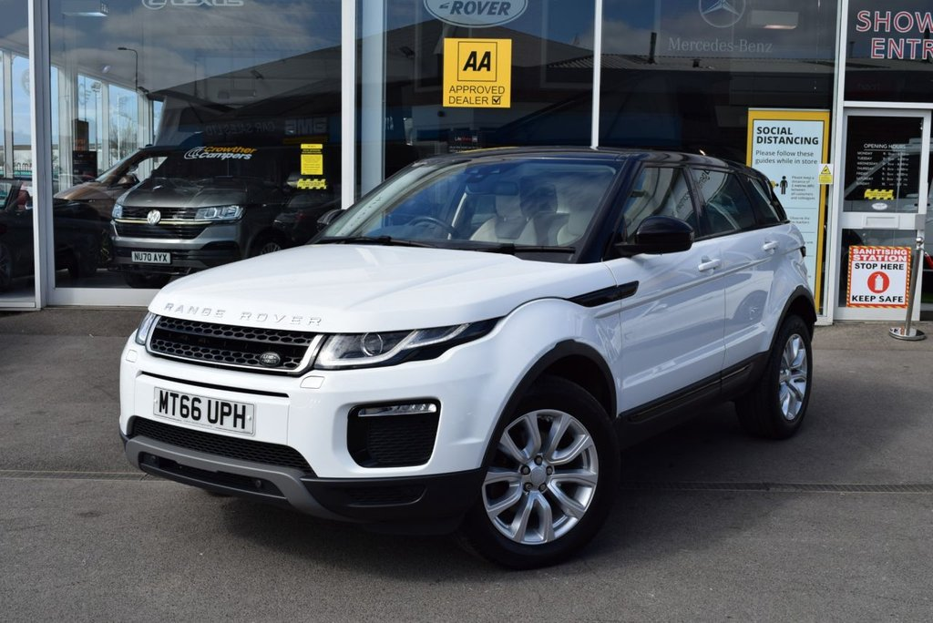USED 2016 66 LAND ROVER RANGE ROVER EVOQUE 2.0 TD4 SE TECH 5d 177 BHP NAVIGATION, BLUETOOTH, HEATED SEATS AND STEERING WHEEL - SERVICE HISTORY