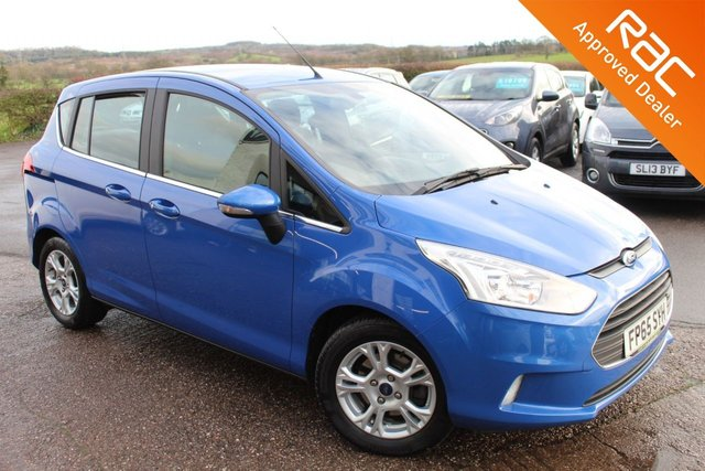 USED 2015 65 FORD B-MAX 1.6 ZETEC 5d 104 BHP VIEW AND RESERVE ONLINE OR CALL 01527-853940 FOR MORE INFO.