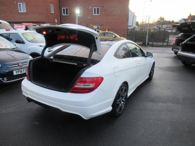 USED 2013 63 MERCEDES-BENZ C-CLASS 2.1 C220 CDI BLUEEFFICIENCY AMG SPORT PLUS 2d 168 BHP **BUY NOW PAY NEXT YEAR**