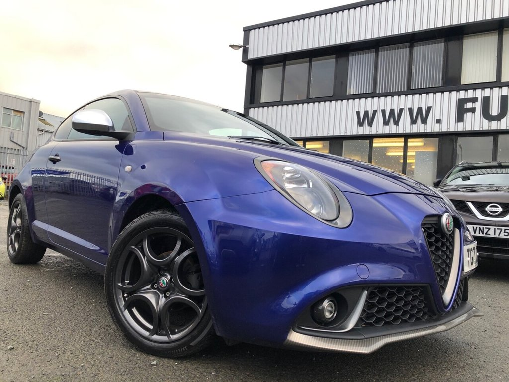 USED 2018 ALFA ROMEO MITO 0.9 TWINAIR SUPER 3d 105 BHP £196 a month, T&C';s apply.