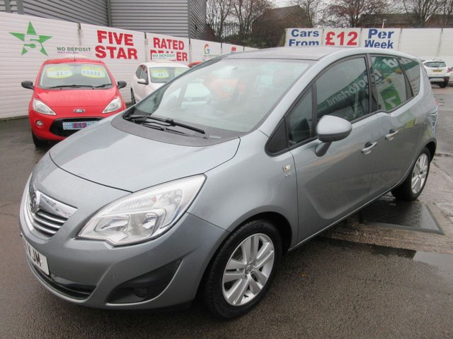 USED 2011 11 VAUXHALL MERIVA 1.4 SE 5d 98 BHP **BUY NOW PAY NEXT YEAR**