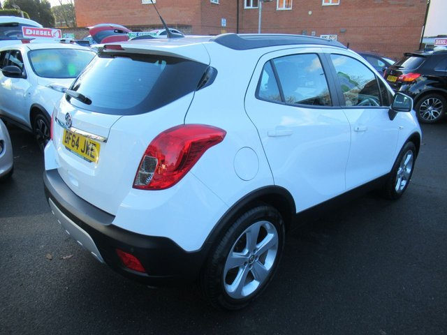 USED 2014 64 VAUXHALL MOKKA 1.6 EXCLUSIV S/S 5d 113 BHP TEST DRIVE TODAY 01543 379066