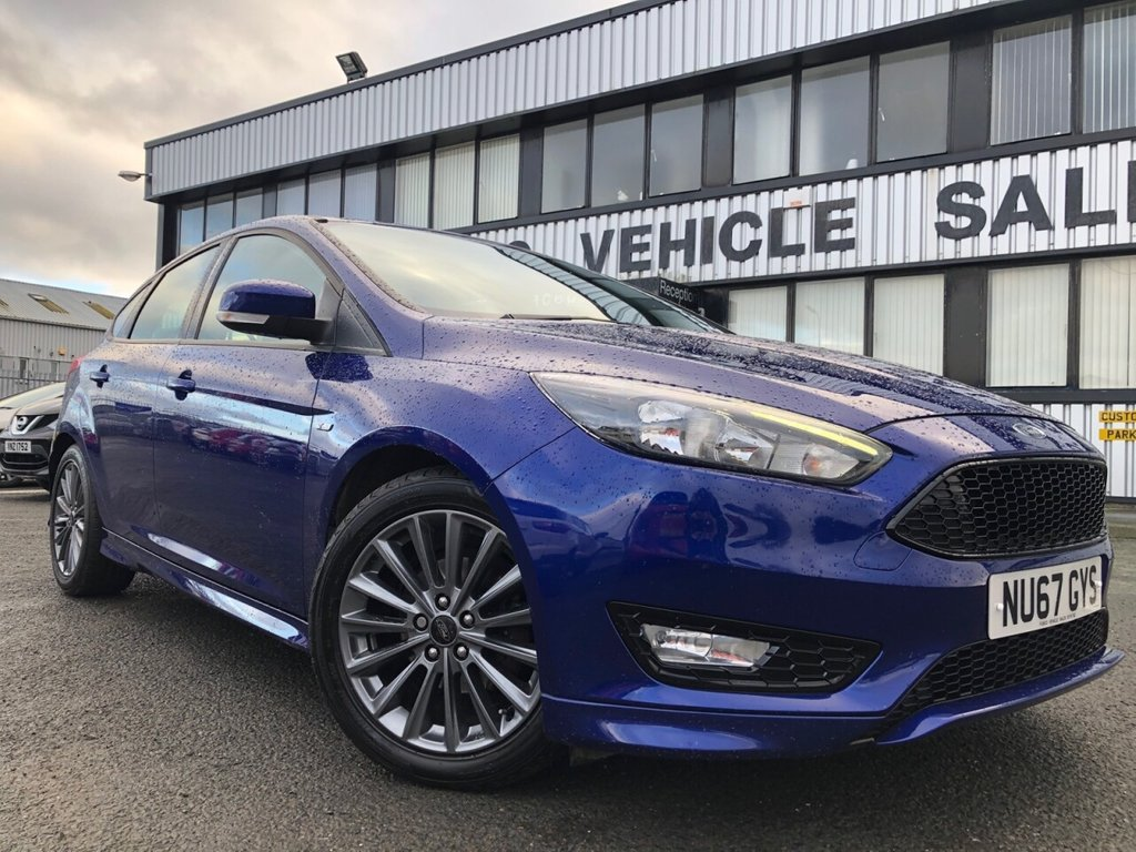 USED 2017 67 FORD FOCUS 1.5 ST-LINE TDCI 5d 118 BHP £244 a month, T&Cs apply.