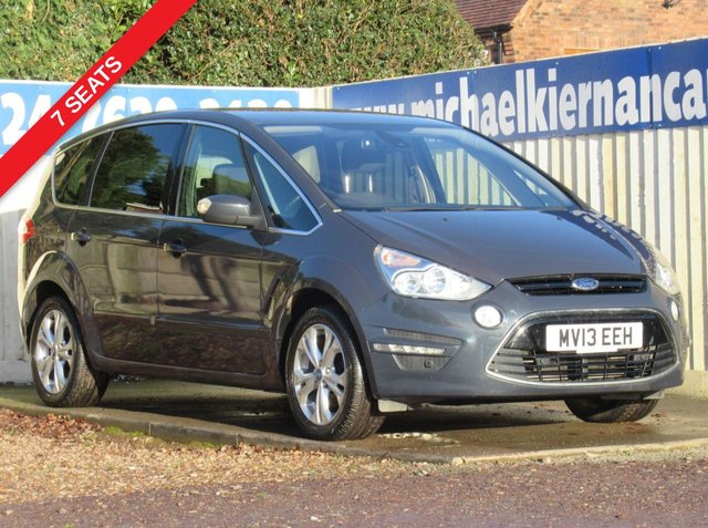USED 2013 13 FORD S-MAX 2.0 TITANIUM TDCI 5d 138 BHP VERY CLEAN CAR THROUGHOUT