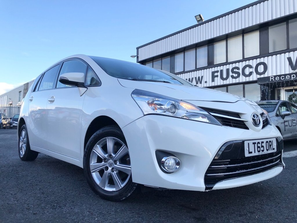 USED 2015 65 TOYOTA VERSO 1.8 VALVEMATIC ICON 5d 145 BHP £218 a month, T&Cs apply.