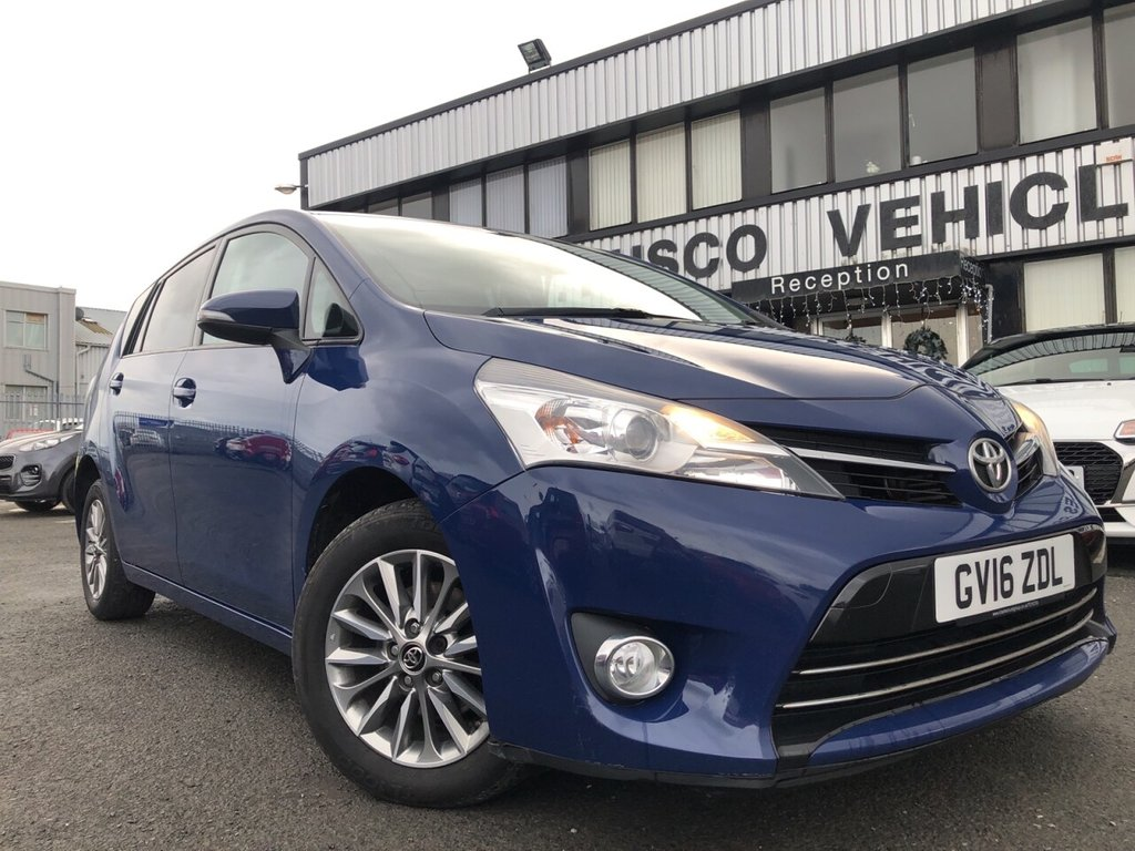 USED 2016 16 TOYOTA VERSO 1.6 D-4D ICON 5d 110 BHP £177 a month, T&Cs apply.