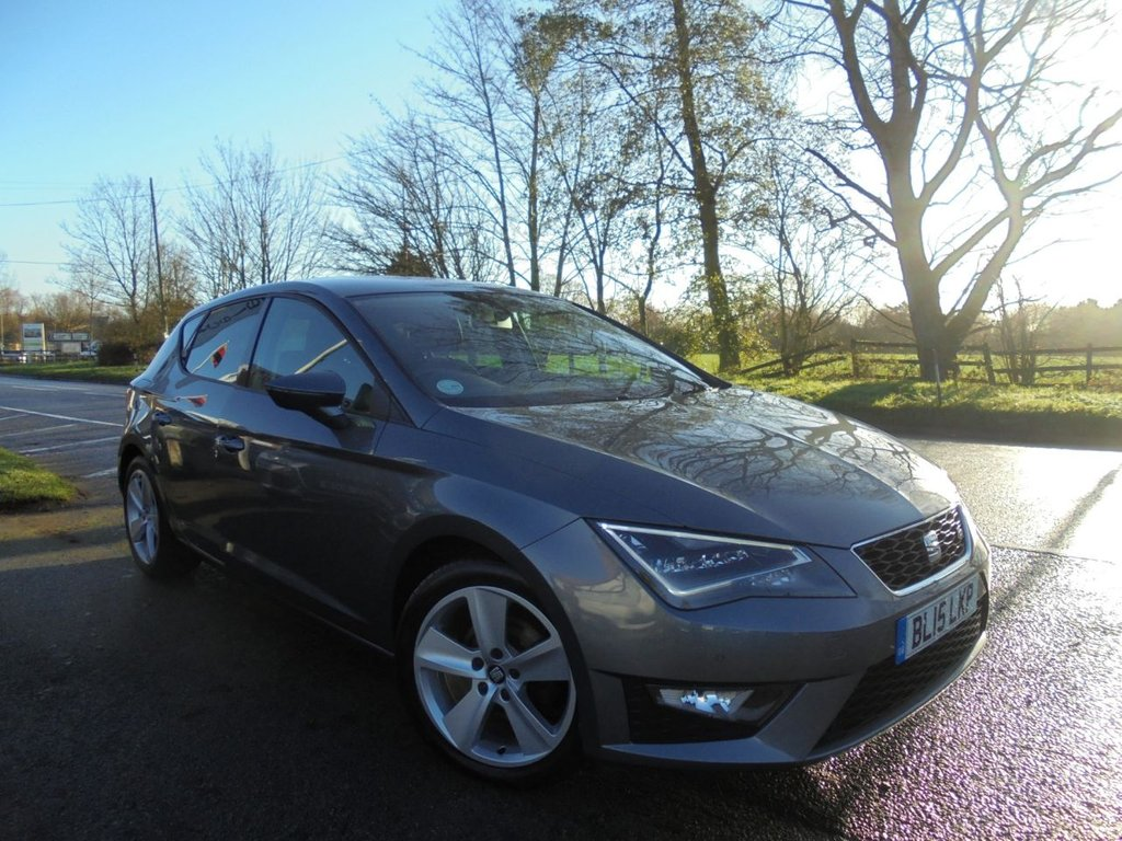 USED 2015 15 SEAT LEON 1.4 TSI FR TECHNOLOGY 5d 150 BHP