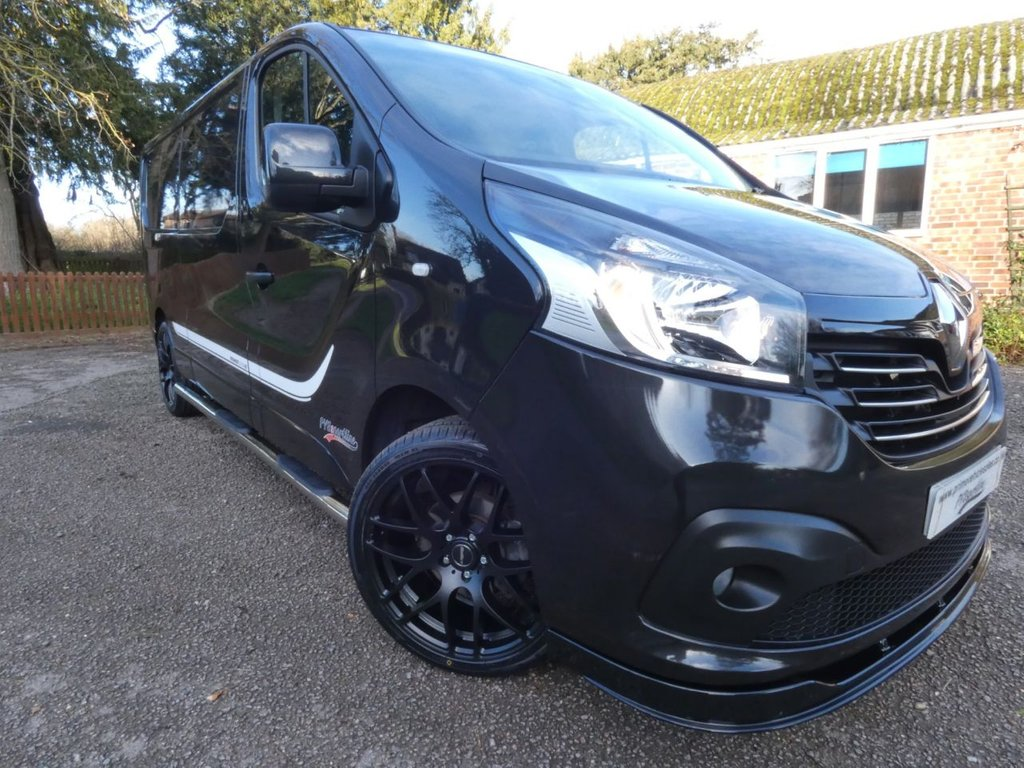 USED 2019 19 RENAULT TRAFIC 1.6 dci Energy 125 LL29 Premier Edition PVSsportline