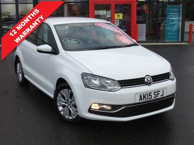 USED 2015 15 VOLKSWAGEN POLO 1.0 SE 5d 60 BHP *****12 Months Warranty*****