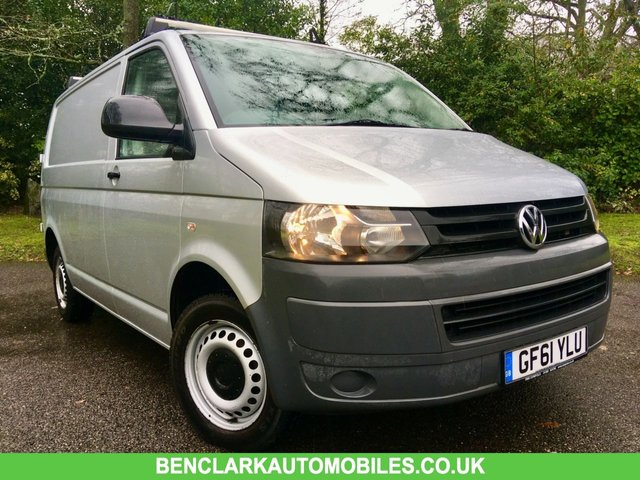 2012 61 VOLKSWAGEN TRANSPORTER 2.0 T28 TDI 5d 102 BHP''ONLY 55,500 MILES//VW + 1 OWNER/GREAT SERVICE HISTORY/JUST SERVICED AND MOT'D /IMMACULATELY KEPT BY RETIRED ELECTRICIAN/