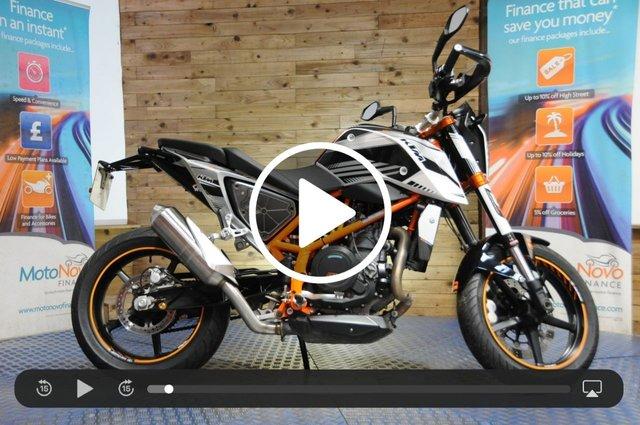 USED 2012 12 KTM 690 DUKE 690cc 690 DUKE 12 ABS