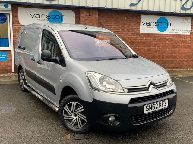 USED 2012 62 CITROEN BERLINGO 1.6 725 X L2 HDI 89 BHP