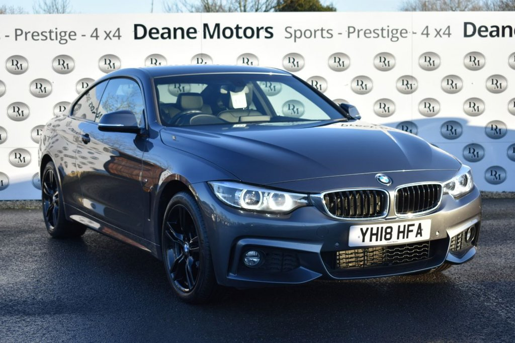 USED 2018 18 BMW 4 SERIES 2.0 420I XDRIVE M SPORT 2d 181 BHP
