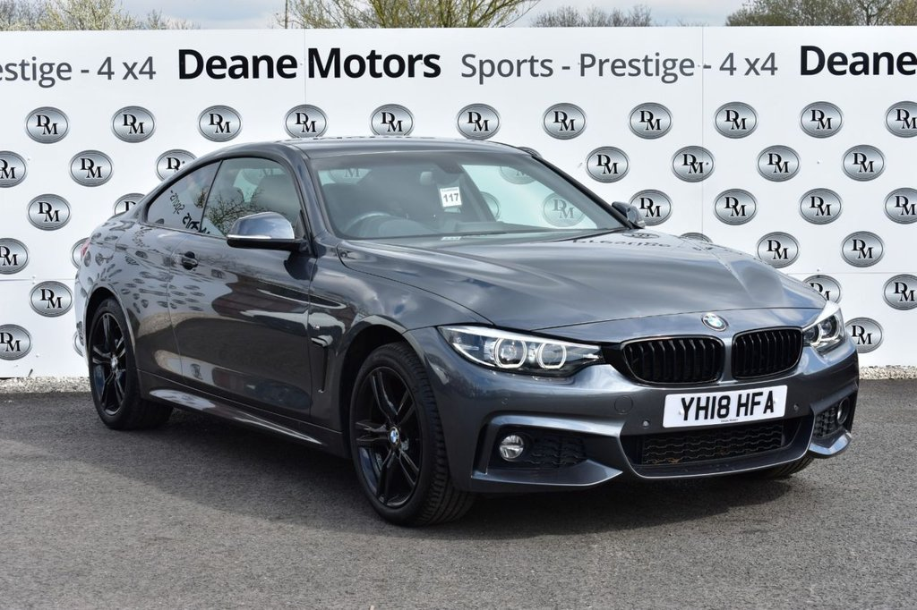 USED 2018 18 BMW 4 SERIES 2.0 420I XDRIVE M SPORT 2d 181 BHP BLACK PACK
