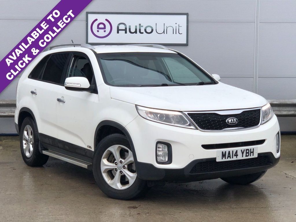 USED 2014 14 KIA SORENTO 2.2 CRDI KX-2 SAT NAV 5d 194 BHP FULL SERVICE HISTORY | REAR CAMERA | SAT NAV | CLIMATE | HEATED LEATHER