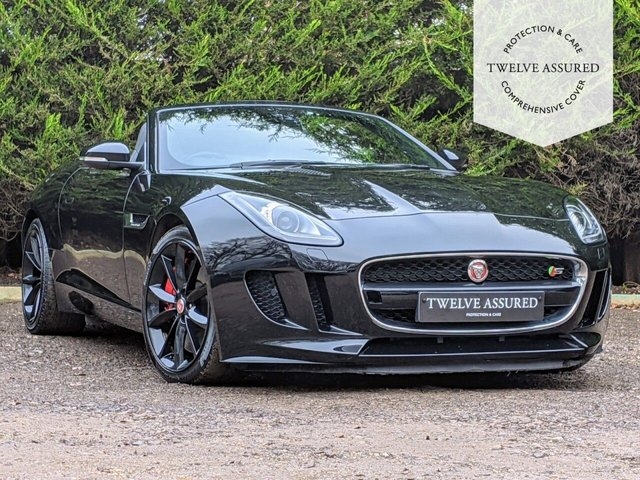 USED 2015 15 JAGUAR F-TYPE 3.0 V6 S 2d AUTO 380 BHP (ACTIVE EXHAUST)