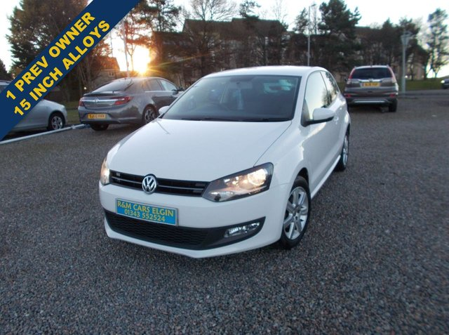 2014 14 VOLKSWAGEN POLO 1.4 MATCH EDITION 3d 83 BHP