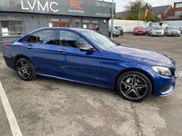 USED 2018 67 MERCEDES-BENZ C-CLASS 2.1 C 220 D 4MATIC AMG LINE PREMIUM PLUS 4d 170 BHP NIGHT, DRIVING, LANE PACKAGE