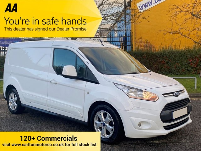2014 64 FORD TRANSIT CONNECT 1.6TDCi 115 240 L2 LWB LIMITED P/V ALLOYS / AIR CON