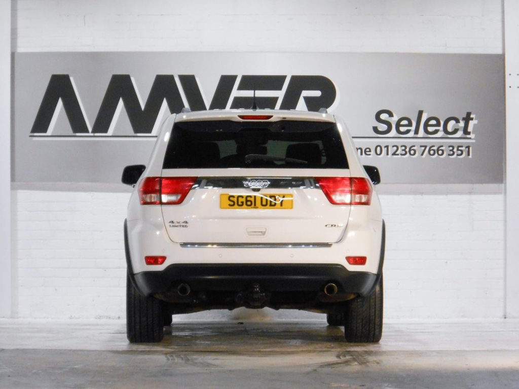 USED 2011 61 JEEP GRAND CHEROKEE 3.0 V6 CRD LIMITED 5d 237 BHP