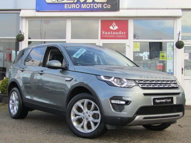 2015 65 LAND ROVER DISCOVERY SPORT 2.0 TD4 HSE 5d 180 BHP