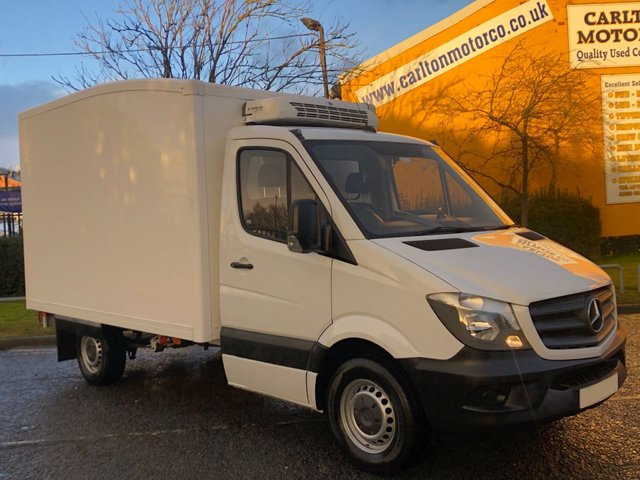 2016 66 MERCEDES-BENZ SPRINTER 313 CDI LWB 130 [ INSULATED FRIDGE CHILLER ] BOX VAN