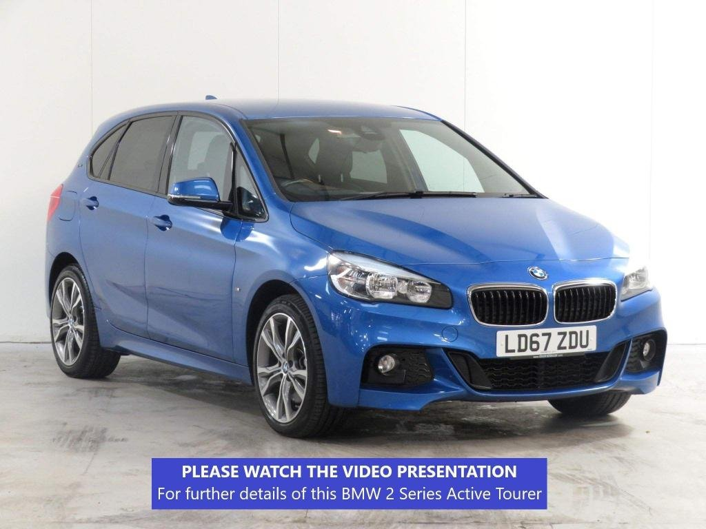 USED 2017 67 BMW 2 SERIES ACTIVE TOURER 1.5 225xe 7.6kWh M Sport Active Tourer Auto 4WD (s/s) 5dr £4509 OPTION*NAVIGATION + PACK
