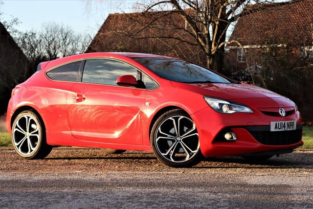 USED 2014 14 VAUXHALL ASTRA 1.6T 16V Limited Edition (s/s) 3dr 1yrs mot LOW MILEAGE TURBO