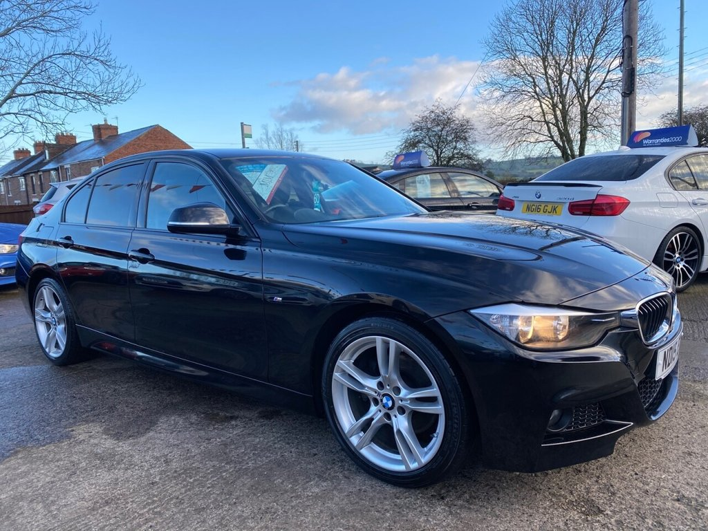 USED 2015 15 BMW 3 SERIES 2.0 320D M SPORT 4d 181 BHP  1 OWNER* FULL LEATHER* PRO NAV* HEATED SEATS * STUNNING THROUGHOUT*