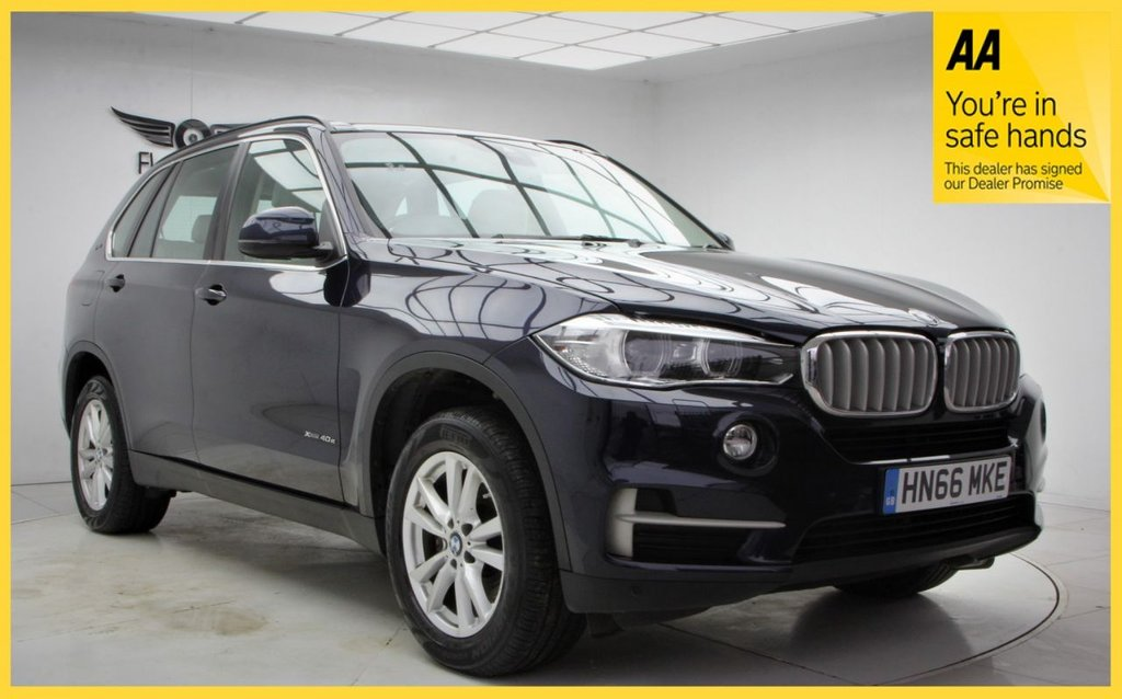 USED 2016 66 BMW X5 2.0 XDRIVE40E SE 5d 242 BHP