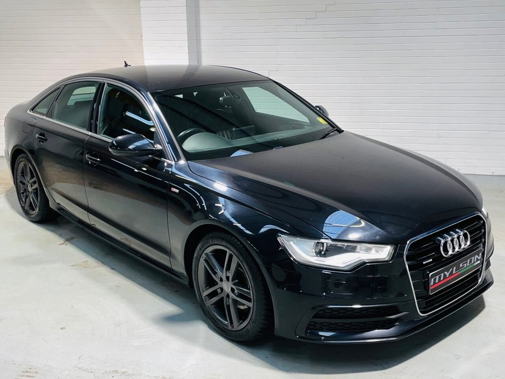 USED 2012 12 AUDI A6 3.0 TDI QUATTRO S LINE 4d 245 BHP 3.0 Quattro S-Tronic, Technology Pack, BOSE Audio, Full Service History