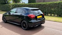 USED 2017 17 MERCEDES-BENZ A-CLASS 1.6 A200 AMG Line (Executive) 7G-DCT (s/s) 5dr LOW MILES +REVCAM+FSH+SAT NAV