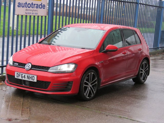 USED 2015 64 VOLKSWAGEN GOLF 2.0 GTD 5dr 181 DAB Cruise Bluetooth & audio Privacy glass 18