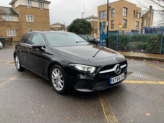2018 68 MERCEDES-BENZ A-CLASS 1.5 A 180 D SPORT EXECUTIVE 5d 114 BHP
