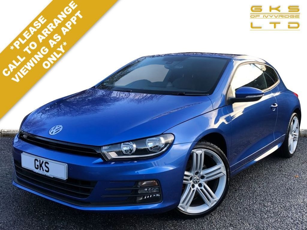USED 2015 64 VOLKSWAGEN SCIROCCO 2.0 R LINE TDI BLUEMOTION TECHNOLOGY DSG 2d 182 BHP ** NATIONWIDE DELIVERY AVAILABLE **