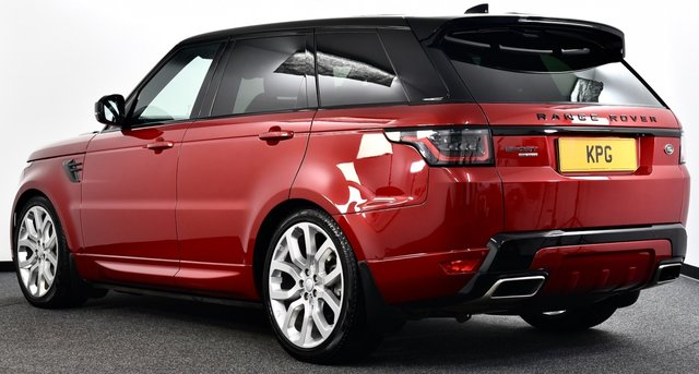USED 2018 18 LAND ROVER RANGE ROVER SPORT 3.0 SD V6 HSE Dynamic Auto 4WD (s/s) 5dr £11k Extras, D/Steps, Pan Roof