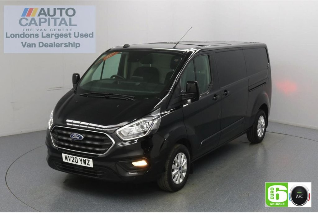 USED 2020 20 FORD TRANSIT CUSTOM 2.0 300 Limited EcoBlue 170 BHP L2 H1 Euro 6 Low Emission Finance Available Online | Eco Mode | Auto Start-Stop | Front and rear parking distance sensors