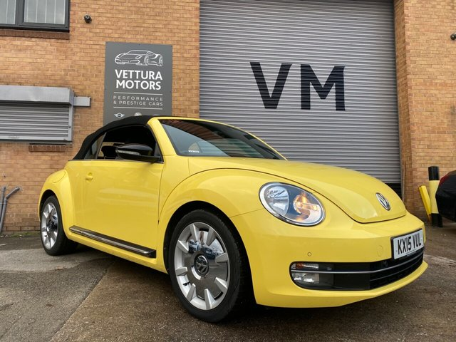 USED 2015 15 VOLKSWAGEN BEETLE 2.0L SPORT TDI BLUEMOTION TECHNOLOGY DSG 2d 148 BHP