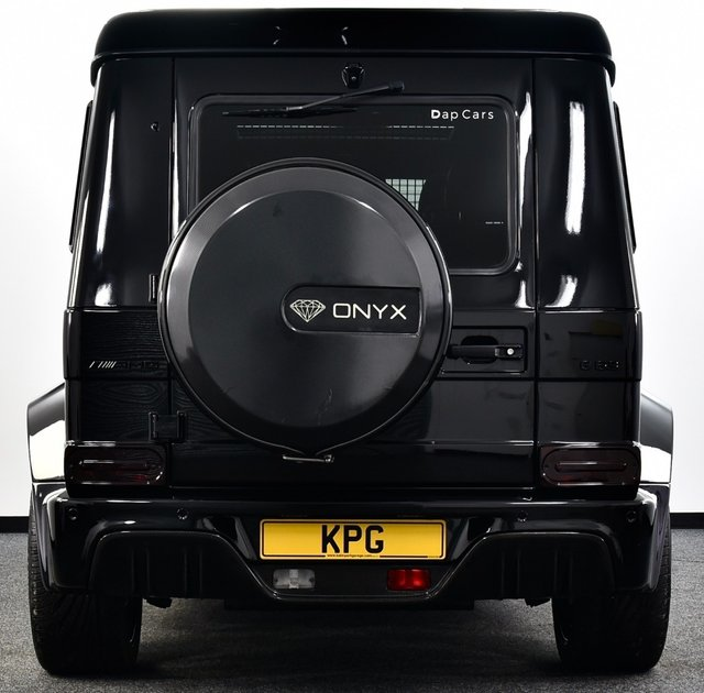 USED 2017 17 MERCEDES-BENZ G-CLASS 5.5 BiTurbo V8 AMG Edition 463 SpdS+7GT 4WD (s/s) 5dr Onyx G7, Over £220k New, 1 Off