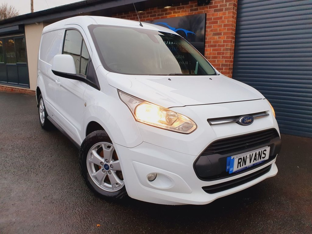 USED 2016 66 FORD TRANSIT CONNECT 1.5 200 LIMITED L1 118 BHP *** REV CAM - SAT NAV - A/C ***