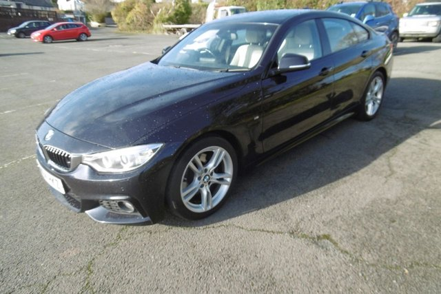 USED 2014 64 BMW 4 SERIES 3.0 430D M SPORT GRAN COUPE 4d 255 BHP