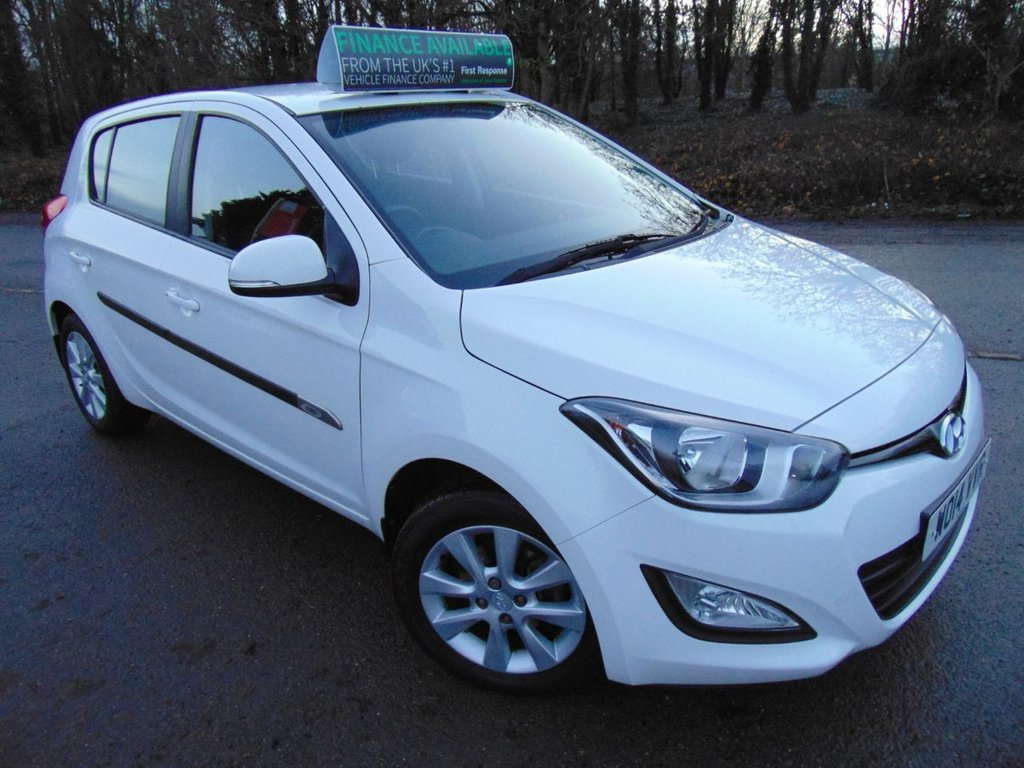 USED 2014 14 HYUNDAI I20 1.2 ACTIVE 5d 84 BHP FULL MAIN DEALER SERVICE HIST