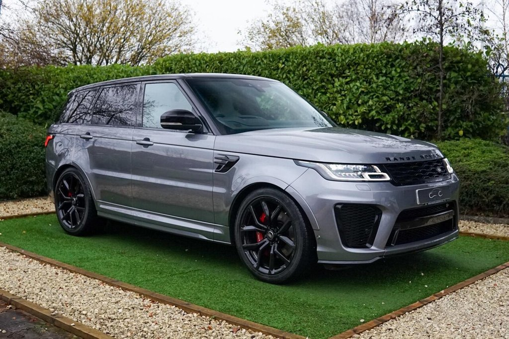 USED 2019 69 LAND ROVER RANGE ROVER SPORT 5.0 SVR 5d 567 BHP