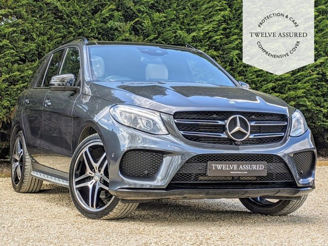 USED 2016 16 MERCEDES-BENZ GLE-CLASS 3.0 GLE 350 D 4MATIC DESIGNO LINE 5d AUTO 255 BHP 1 OWNER, 360 CAMERAS, MASSAGING SEATS & PAN ROOF)