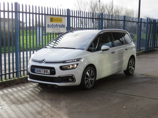 USED 2017 67 CITROEN C4 GRAND PICASSO 1.6 BLUEHDI FLAIR S/S EAT6 5d 118 BHP Automatic,7 Seats,Panoramic Sunroof,Service History