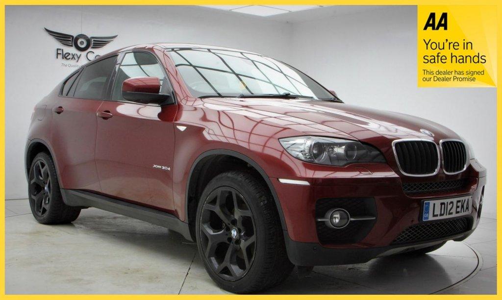 USED 2012 12 BMW X6 3.0 XDRIVE30D 4d 241 BHP