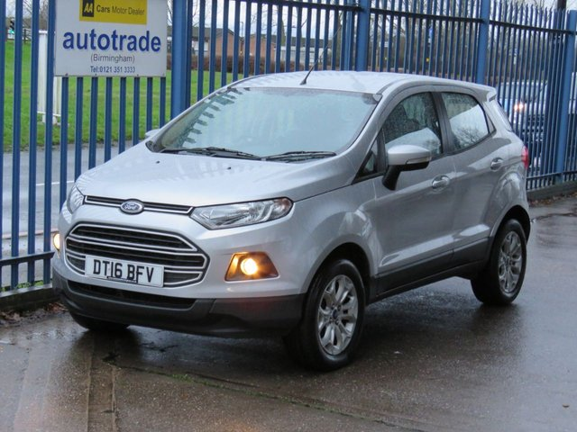 USED 2016 16 FORD ECOSPORT 1.0 ZETEC 5dr 124 DAB Alloys Bluetooth Air conditioning Park sensors Finance arranged Part exchange available Open 7 days ULEX Compliant