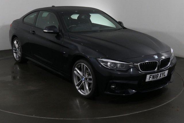 2018 18 BMW 4 SERIES 3.0 435D XDRIVE M SPORT 2d 309 BHP ULEZ EXEMPT