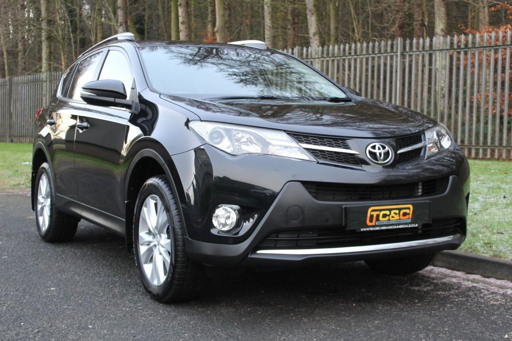 USED 2014 14 TOYOTA RAV4 2.0 D-4D INVINCIBLE AWD 5d 124 BHP A STUNNING LOW MILEAGE, LOW OWNER AWD RAV4 WITH FULL TOYOTA SERVICE HISTORY!!!