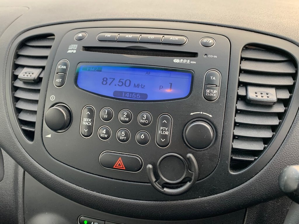 USED 2011 61 HYUNDAI I10 1.2 ACTIVE 5d 85 BHP